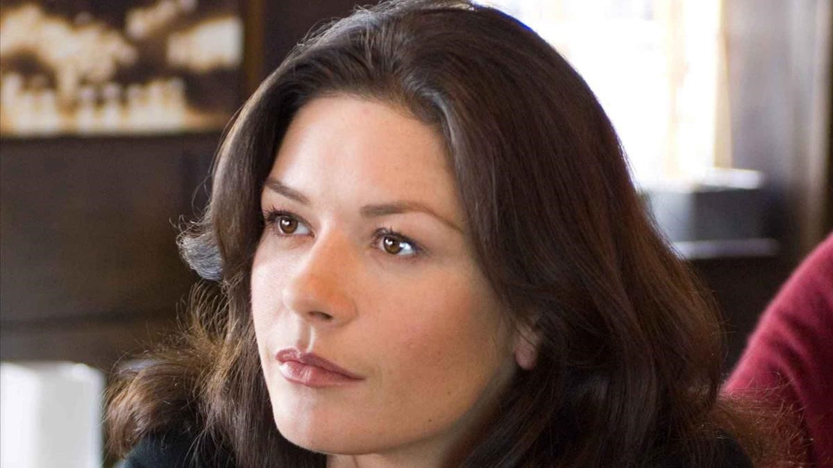 Catherine Zeta-Jones, sense maquillatge