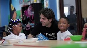 Eduardo Noriega recolza Unicef a Panamà