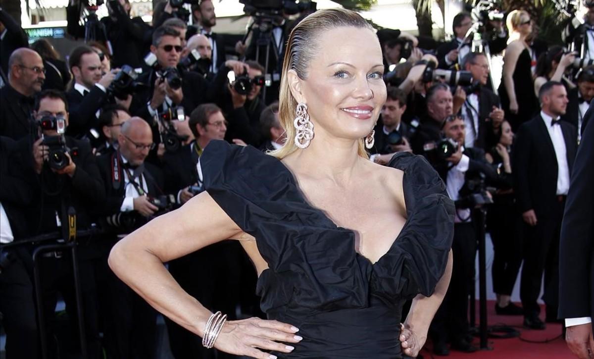 Pamela Anderson, esta semana enCannes.