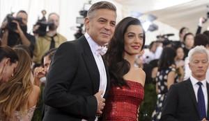 Amal y George Clooney, el pasado noviembre.