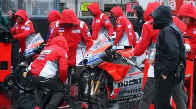 Ducati se indigna por cómo se suspendió el GP de Inglaterra