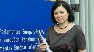 Vera Vourova, comisaria de Mercado Interior de la UE.