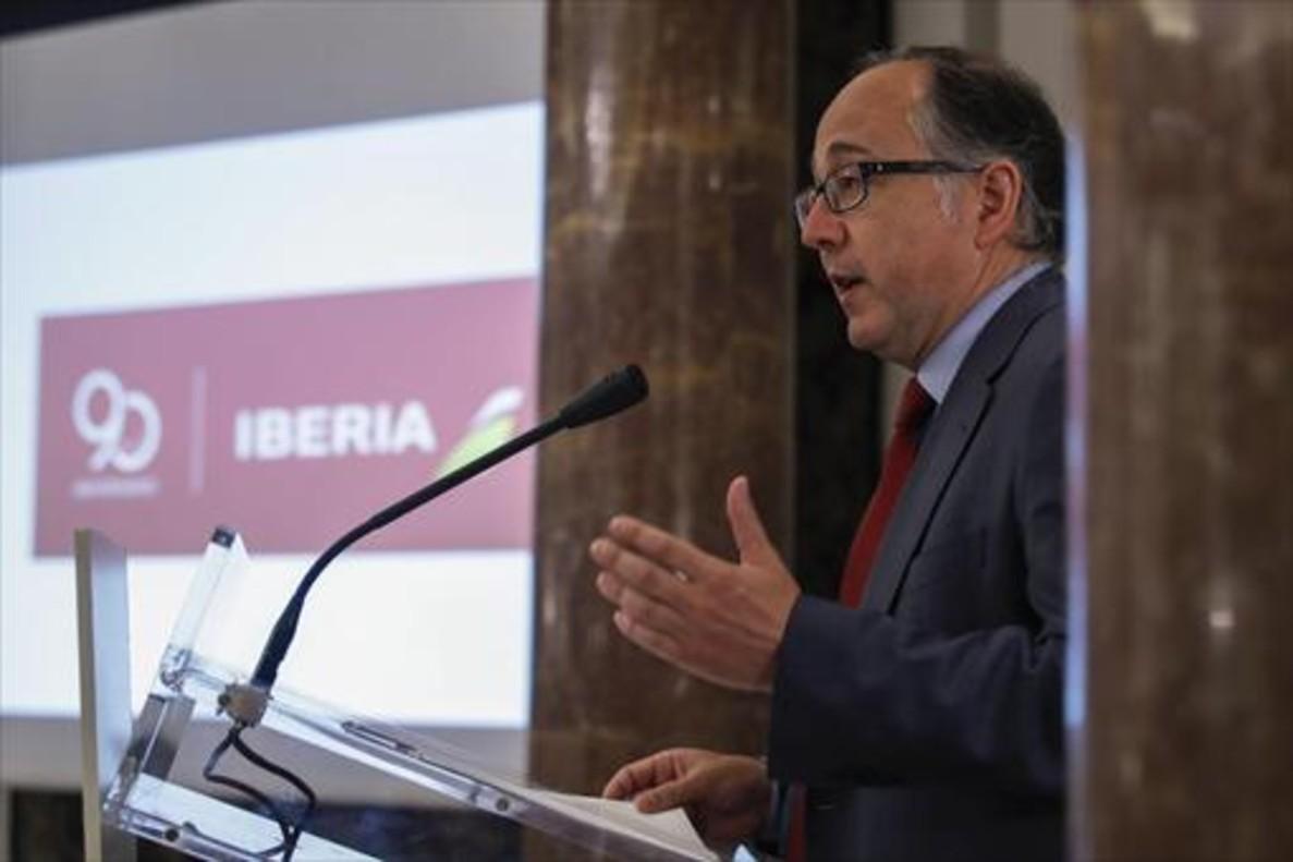 Luis Gallego, presidente ejecutivo de Iberia.