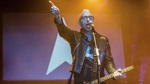 Luis Miguélez, en el homenaje a Bowie en Razzmatazz.