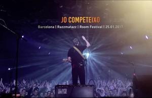 Una imagen del videoclip de 'Jo competeixo'.