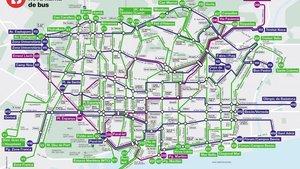Finalitzada la xarxa de bus d'altes prestacions