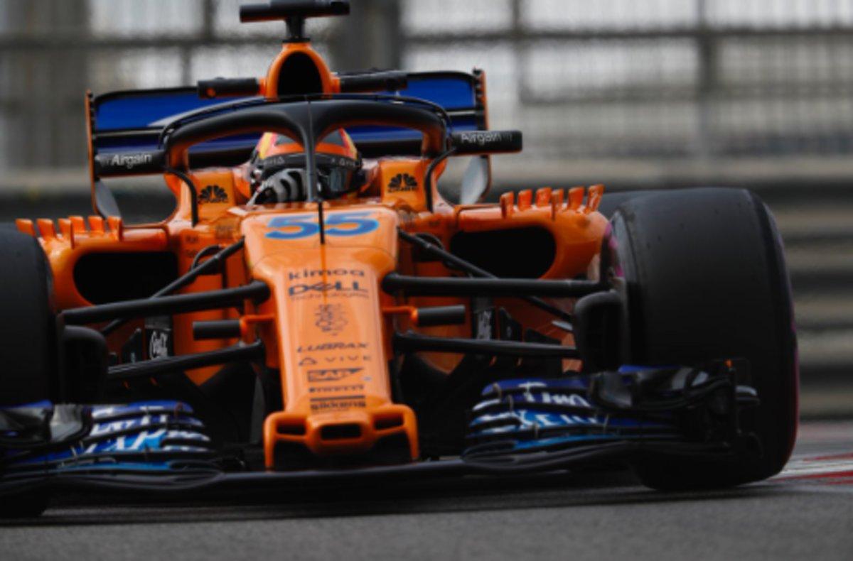 Sainz s'estrena amb McLaren