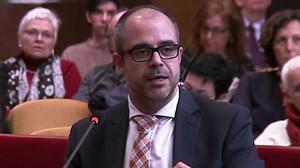 El 'conseller' de Interior,Miquel Buch.