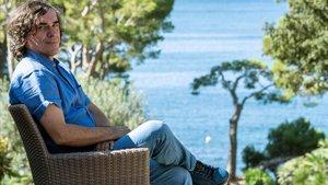 Mircea Cartarescu, en el Hotel Formentor de Mallorca