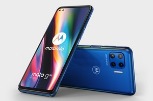 Nuevo modelo de Motorola que admite conexiones 5G.
