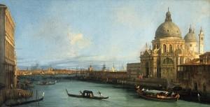 Óleo de Canaletto, que forma parte de la exposición Settecento, que puede verse en CaixaForum Zaragoza.