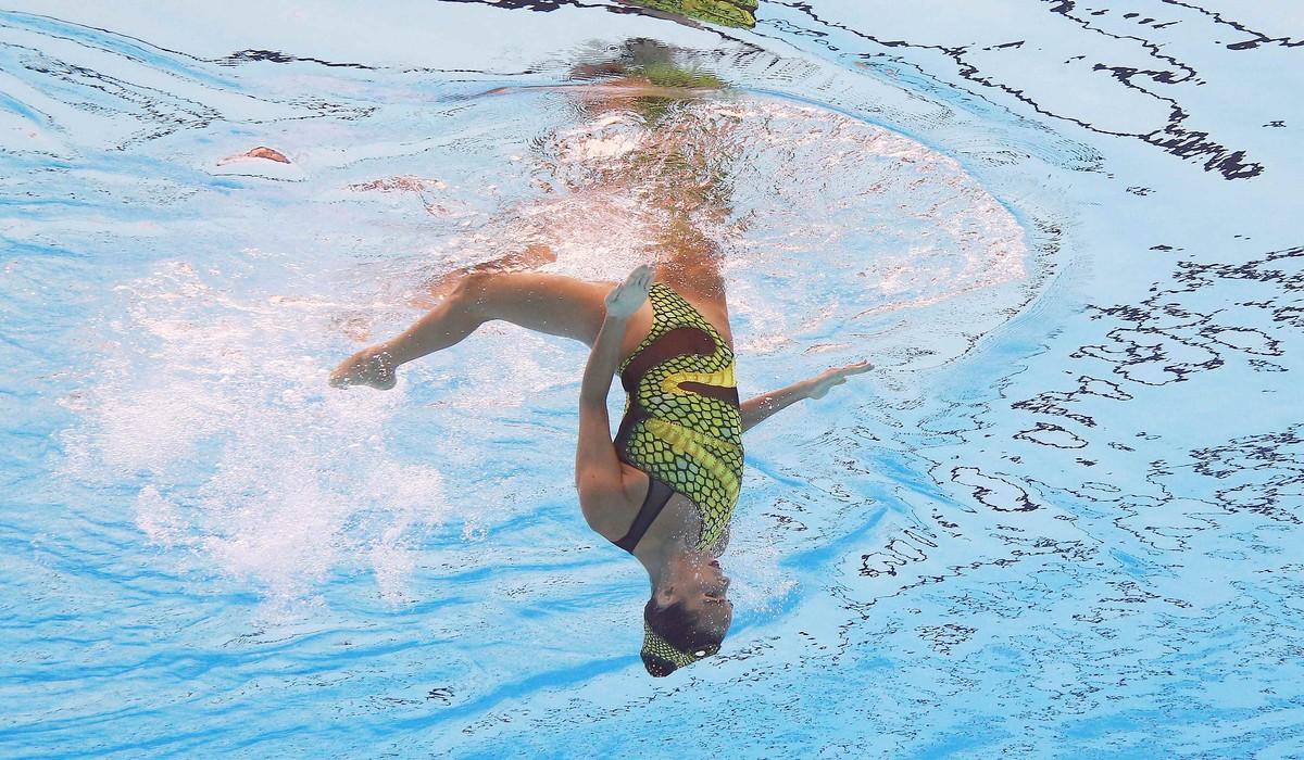 Ona Carbonell ha logrado la medalla de plata en solo técnico en el Mundial de Budapest.