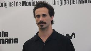 El actor Oriol Pla, protagonista de El día de mañana (Movistar+).