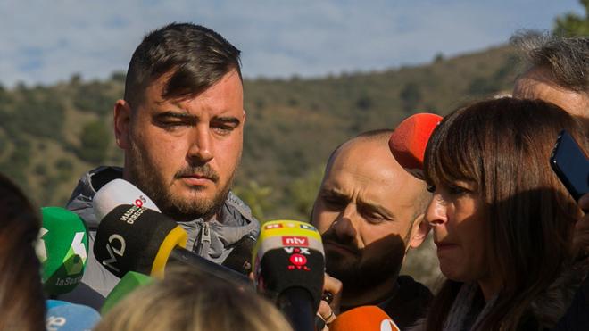 El padre del niño Julen, que se cayó en un pozo de Totalán (Málaga) el pasado domingo, agradece los esfuerzos de los equipos de rescate.