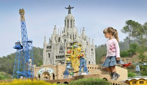 El parque de atracciones Tibidabo de Catalunya en Miniatura.