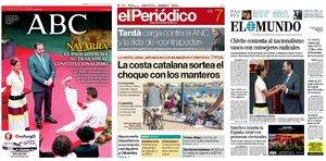 Prensa de hoy: Las portadas de los periódicos del miércoles 7 de agosto del 2019