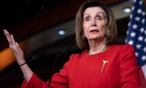 La presidenta de la Cámara de Representantes,Nancy Pelosi.