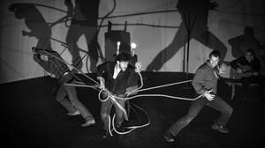 Una escena de Quejío, obra emblemática del teatro independiente recuperada 45 años después. Recala en el Poliorama de viernes a domingo.