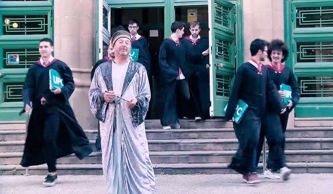 El rector de la UPC acomiada el curs en el nom de Harry Potter