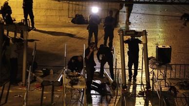 Israel retira los detectores de metal de la Explanada de las Mezquitas
