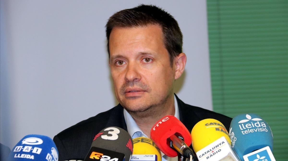 Ricard Calvo, ya exdirector general de Atención a la Infancia y la Adolescencia.