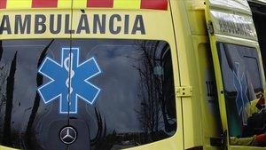 Una unidad del Servei de Emergències Mèdiques.