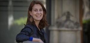 Jéssica Albiach, diputada de Catalunya en Comú Podem en el Parlament.