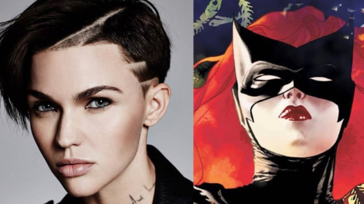 La actriz Ruby Rose y Batwoman, en DC Comics.
