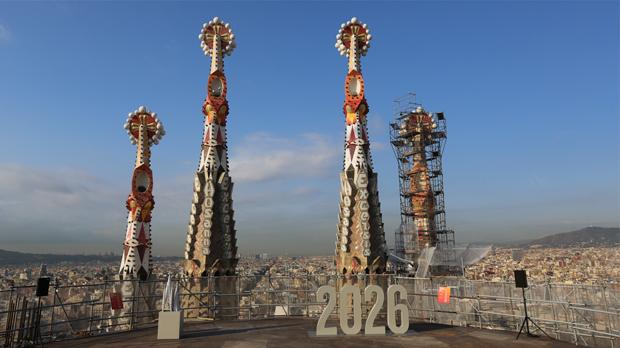 La Sagrada Família rozará los 200 metros de altura en cinco años