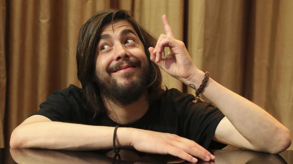 El músicoSalvador Sobral.