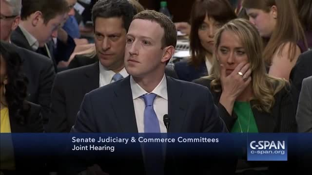 Marc Zuckerberg, en un compromís.