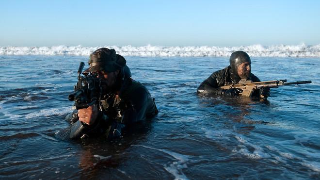 Soldados de los Navy SEALs del Ejército de EEUU.