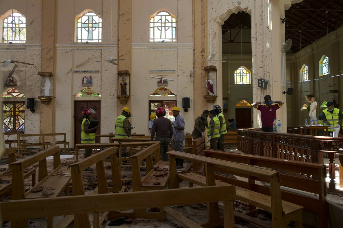 Dimiteix el secretari de Defensa de Sri Lanka pels atemptats de diumenge