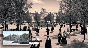 Una escena del 'Passeig impossible', a Pla de Palau.