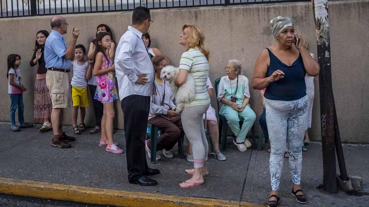 Venezuela registra un seismo de magnitud 7,3.