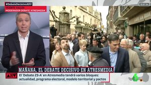 """Vicente Vallés, antes del 'debate' decisivo de Atresmedia: """"Noto el nerviosismo de los partidos"""""""