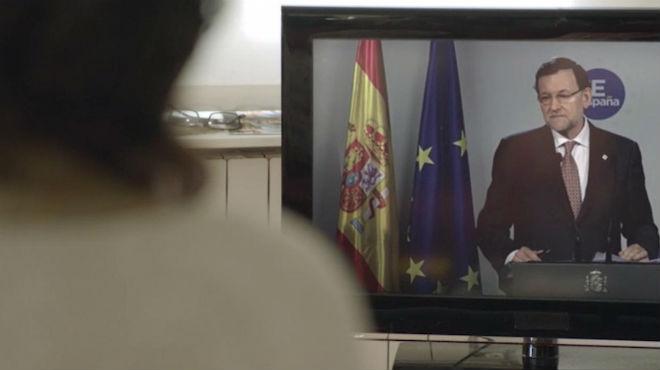 Vídeo electoral del PSOE para reclamar a los votantes cortar con la derecha.