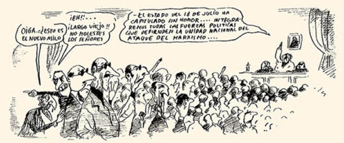 Viñeta de Martínez el Facha, en el número cero inédito de El Jueves que rescata Humoristán.