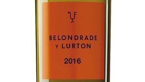 Belondrade y Lurton 2016, el sueño de Didier