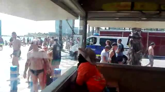 Experts de l'Armada vindran de Cartagena a retirar l'explosiu de la platja de Sant Sebastià