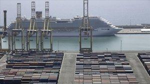 El trànsit de contenidors del port de Barcelona va créixer un 8% fins al maig