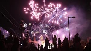 El piromusical més emotiu posa el colofó a la Mercè 2017