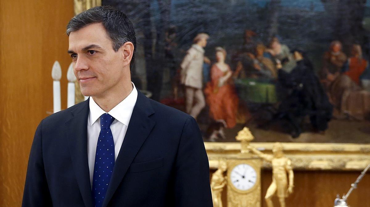 El cambio de Pedro Sánchez