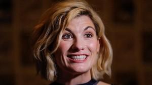 La actriz Jodie Whittaker, en la presentación en el Comic-Con de San Diego dela serie de la BBC Doctor Who.