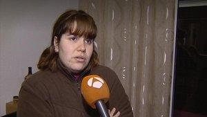 Lucía, la madre del bebé maltratado, en una entrevista con Antena 3.