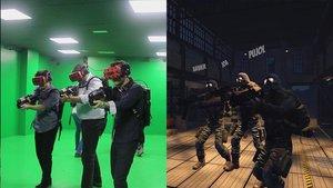 En Red Helmet Experience, controlas el movimiento virtual con el movimiento real. Es el único de la ciudad sin cables.
