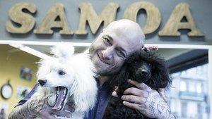 """Santi Sarrià: """"El meu art el desplego amb els gossos de competició"""""""