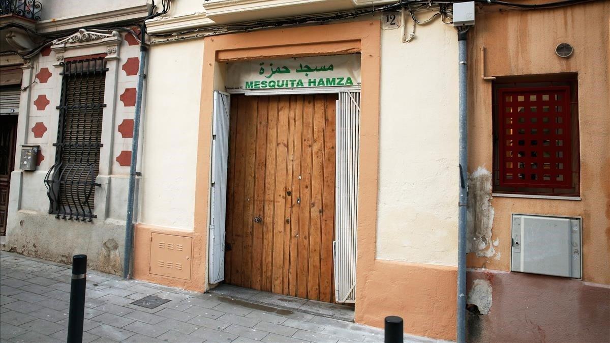 El acusado ejercía sus funciones en la mezquita Hamza, en el Clot.