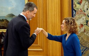 Batet informa el Rei per iniciar la ronda de consultes de la investidura de Sánchez