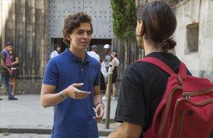 """Javier Garro: """"Mai m'havia plantejat com és dormir al carrer"""""""